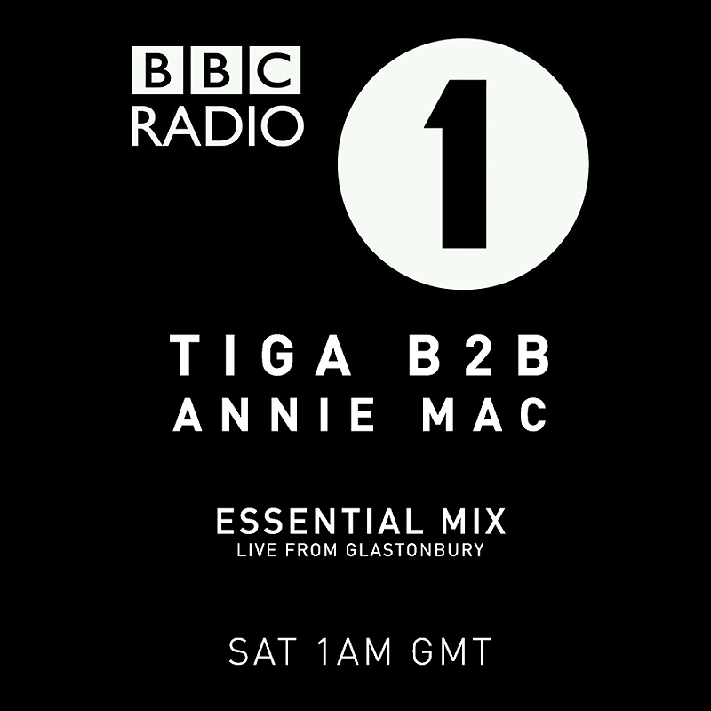 Tiga b2b Annie Mac Essential Mix Glastonbury 2014